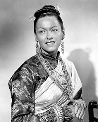 Gale Sondergaard's Lady Thiang was the only Oscar-nominated performance in the film